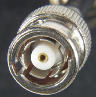 Reverse polarity BNC Male (Plug)